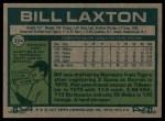 1977 Topps #394  Bill Laxton  Back Thumbnail