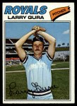 1977 Topps #193  Larry Gura  Front Thumbnail