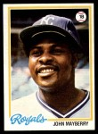 1978 Topps #550  John Mayberry  Front Thumbnail
