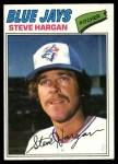 1977 Topps #37  Steve Hargan  Front Thumbnail