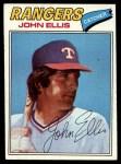 1977 Topps #36  John Ellis  Front Thumbnail
