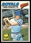 1977 Topps #93  Tom Poquette  Front Thumbnail