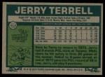 1977 Topps #513  Jerry Terrell  Back Thumbnail