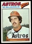 1977 Topps #184  Bo McLaughlin  Front Thumbnail