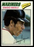 1977 Topps #653  Diego Segui  Front Thumbnail