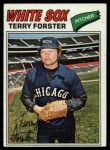 1977 Topps #271  Terry Forster  Front Thumbnail