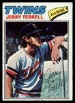 1977 Topps #513  Jerry Terrell  Front Thumbnail