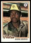 1978 Topps #30  George Hendrick  Front Thumbnail
