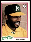 1978 Topps #163  Bill North  Front Thumbnail