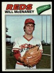 1977 Topps #160  Will McEnaney  Front Thumbnail