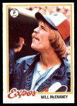 1978 Topps #603  Will McEnaney  Front Thumbnail