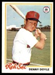 1978 Topps #642  Denny Doyle  Front Thumbnail