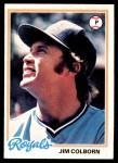 1978 Topps #129  Jim Colborn  Front Thumbnail