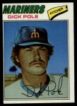 1977 Topps #187  Dick Pole  Front Thumbnail