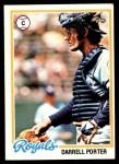 1978 Topps #19  Darrell Porter  Front Thumbnail