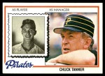 1978 Topps #494  Chuck Tanner  Front Thumbnail