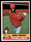 1976 Topps #38  Garry Maddox  Front Thumbnail