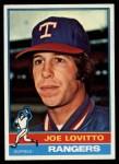 1976 Topps #604  Joe Lovitto  Front Thumbnail