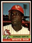 1976 Topps #560  Jorge Orta  Front Thumbnail