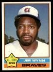 1976 Topps #395  Jim Wynn  Front Thumbnail