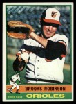 1976 Topps #95  Brooks Robinson  Front Thumbnail