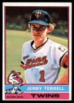 1976 Topps #159  Jerry Terrell  Front Thumbnail