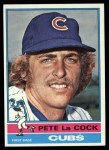 1976 Topps #101  Pete LaCock  Front Thumbnail