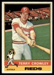 1976 Topps #491  Terry Crowley  Front Thumbnail