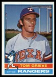 1976 Topps #106  Tom Grieve  Front Thumbnail