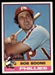 1976 Topps #318  Bob Boone  Front Thumbnail