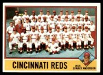 1976 Topps #104   -  Sparky Anderson Reds Team Checklist Front Thumbnail