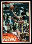 1981 Topps #16  Johnny Davis  Front Thumbnail
