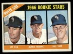 1966 Topps #529   -  Dennis Higgins / Bill Voss / Lee Elia White Sox Rookies Front Thumbnail