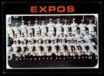 1971 Topps #674   Expos Team Front Thumbnail