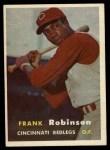 1957 Topps #35  Frank Robinson  Front Thumbnail