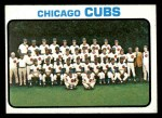 1973 Topps #464   Cubs Team Front Thumbnail