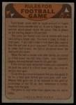 1974 Topps Football Team Checklists #8   Broncos Team Checklist Back Thumbnail
