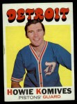 1971 Topps #53  Howie Komives   Front Thumbnail