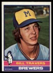 1976 Topps #573  Bill Travers  Front Thumbnail