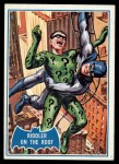 1966 Topps Batman Blue Bat Puzzle Back #37 PUZ  Riddler on the Roof Front Thumbnail