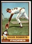 1976 Topps #107  Dave Roberts  Front Thumbnail