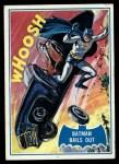 1966 Topps Batman Blue Bat Puzzle Back #40 PUZ  Batman Bails Out! Front Thumbnail