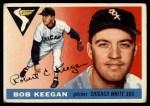 1955 Topps #10  Bob Keegan  Front Thumbnail