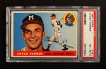 1955 Topps #161  Chuck Tanner  Front Thumbnail