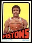 1972 Topps #16  Stu Lantz   Front Thumbnail