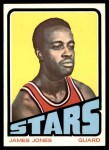 1972 Topps #229  James Jones   Front Thumbnail