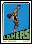 1972 Topps #50  Gail Goodrich   Front Thumbnail