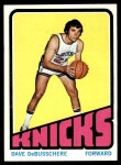 1972 Topps #105  Dave Debusschere   Front Thumbnail