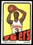 1972 Topps #29  Fred Carter   Front Thumbnail