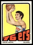 1972 Topps #99  Dave Wohl   Front Thumbnail